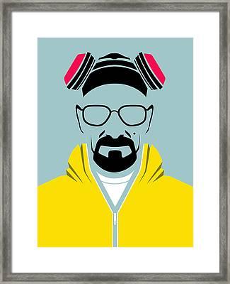 Heisenberg Poster Framed Print