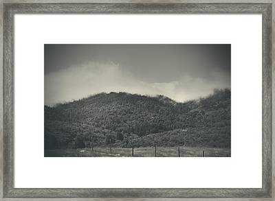 Held Back Framed Print