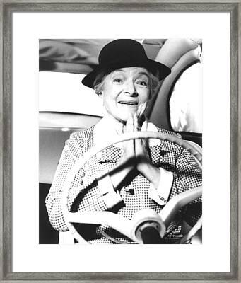 Helen Hayes In Herbie Rides Again  Framed Print
