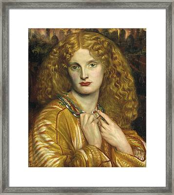 Helen Of Troy Framed Print by Philip Ralley