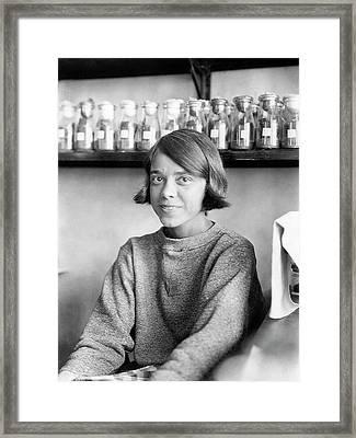 Helen Redfield Framed Print