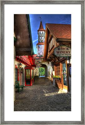 Helen Side Street Framed Print