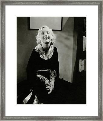 Helen Twelvetrees Framed Print