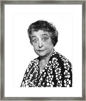 Helen Westley, Ca. Late 1930s Framed Print