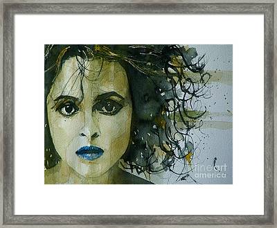 Helena Bonham Carter Framed Print by Paul Lovering