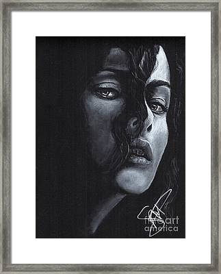 Helena Bonham Carter Framed Print