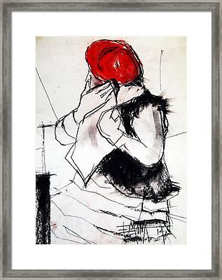 Helene #1 - Figure Series Framed Print by Mona Edulesco