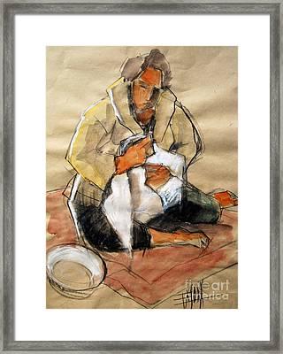 Helene #13 - Figure Series Framed Print