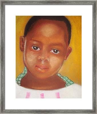 Helene Framed Print
