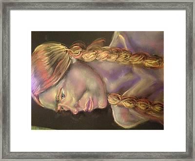 Helga 2 Framed Print by Reid Silvern