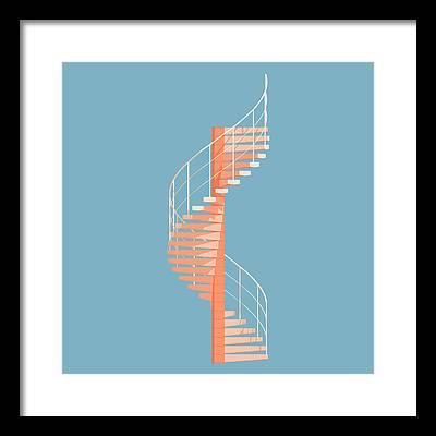 Brutalist Architecture Framed Prints