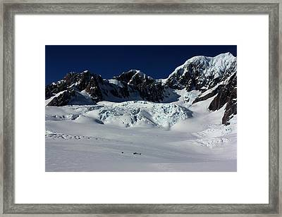 Framed Print featuring the photograph Helicopter New Zealand  by Amanda Stadther
