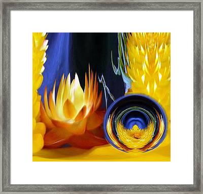 Helisbrayel Orb  Framed Print by Art Mccaffrey