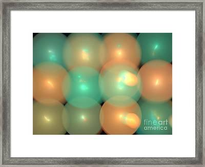 Helium Framed Print by Kim Sy Ok