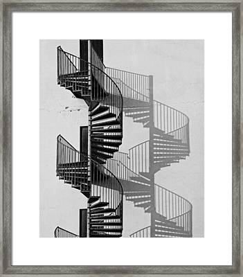 Helix Framed Print by Inge Riis McDonald