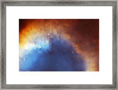 Helix Nebula Close Up Framed Print by Jennifer Rondinelli Reilly - Fine Art Photography