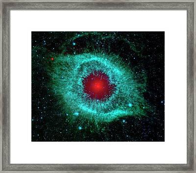 Helix Nebula Framed Print
