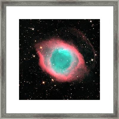 Helix Nebula (ngc 7293) Framed Print