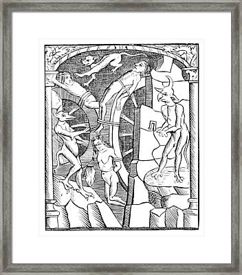 Hell, 1866 Framed Print by British Library