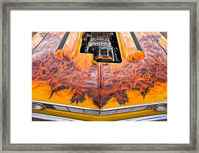 Hell Camino 2 Framed Print by Jeff Sinon