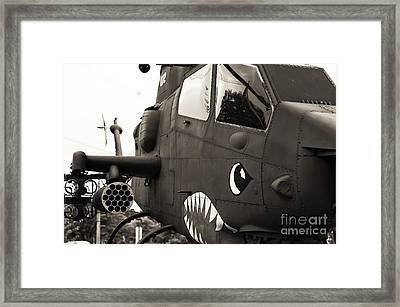 Hell From Above Framed Print