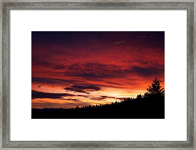 Hell Rising Framed Print