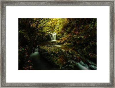 Hell River Framed Print