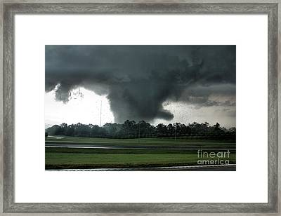 Hell Unleashed II Framed Print by Rick Lipscomb