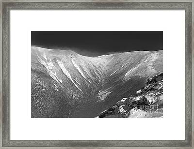 Hellgate Ravine - White Mountains New Hampshire Framed Print
