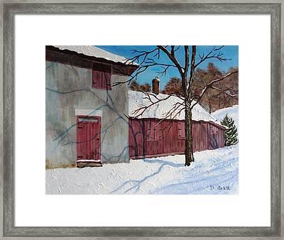 Helliwell House Todmorden Framed Print