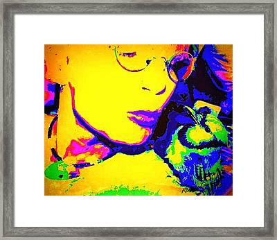 Hello Betty Framed Print by YoMamaBird Rhonda