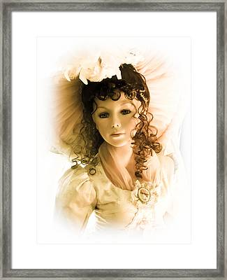 Hello Dolly Framed Print by Colleen Kammerer
