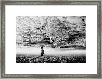 Hello Grandpa Framed Print