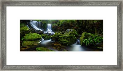 Hello Horseshoe Framed Print by Jason L. Stephens