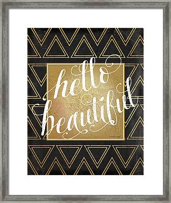 Hello Framed Print by Jennifer Pugh