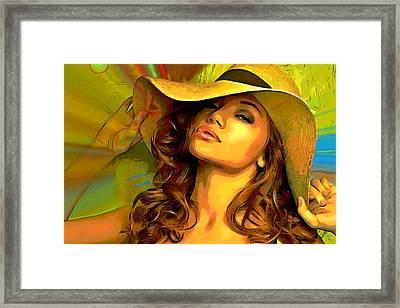 Hello Sunshine Framed Print