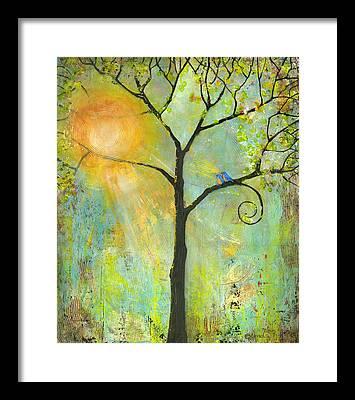 Lovebird Framed Prints