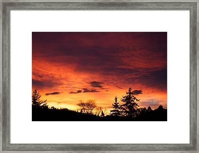 Hells Calling Framed Print by Kevin Bone