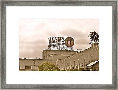 Helms Framed Print by Joe  Burns