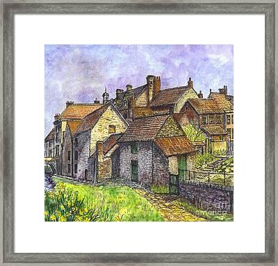 Helmsley Village -  In Yorkshire England  Framed Print by Carol Wisniewski