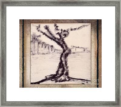 Help Framed Print by Bedros Awak