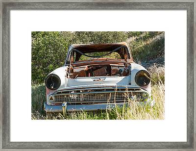 Help I Cant See Volvo Framed Print by Scott Campbell