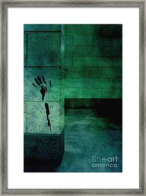 Help Framed Print by Margie Hurwich