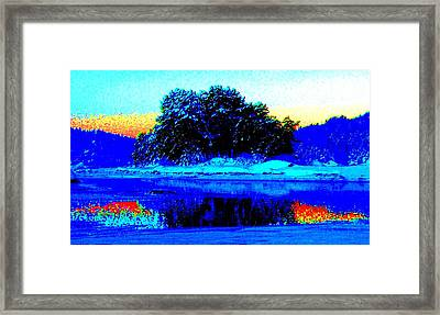 Help The Trolls Island Because It Can't Help Itself  Framed Print