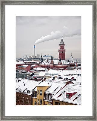 Helsingborg Winter 01 Framed Print by Antony McAulay