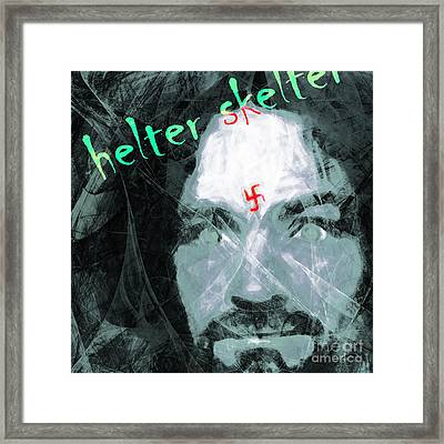 Helter Skelter 20141213 Square V3 Framed Print by Wingsdomain Art and Photography
