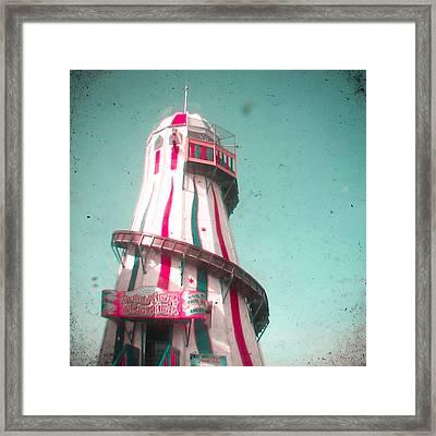 Helter Skelter Framed Print by Cassia Beck