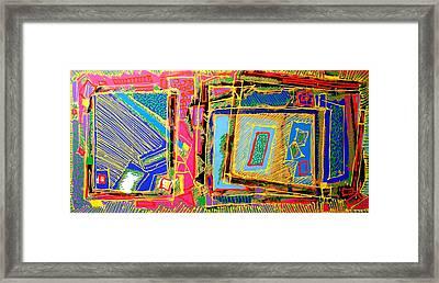 Helter Skelter Framed Print by John  Nolan