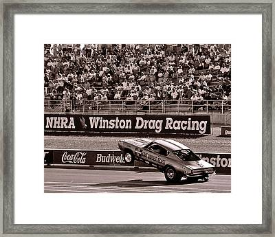 Hemi Under Glass Framed Print