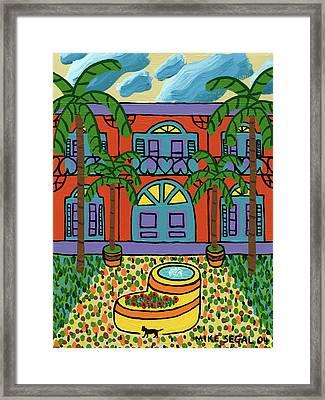 Hemingway House - Key West Framed Print